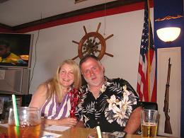 photo of us on the 4th of July at the Legion