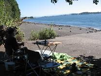 photo of another picnic on the Columbia River