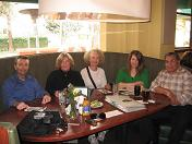 photo of George, Debbie, Darla, Denise, and Gus