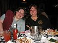 photo of Vickie & Lynne at Clancy's