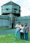 photo of family at Fort Vancouver