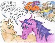 Cattle Drive cartoon