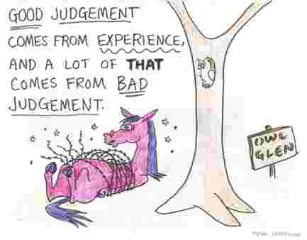 U B D Judge cartoon